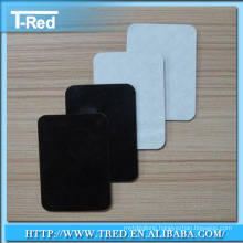 PU gel drop on stucker thickness1mm or 2mm, 3m gum pad from China factory slip mat