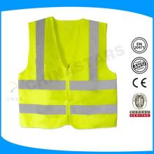 Индивидуальный логотип 100% полиэстер легкий вес тренировочный отражательный жилет