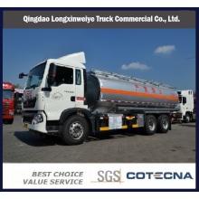 Camión cisterna de HOWO T5g 6X4 336HP