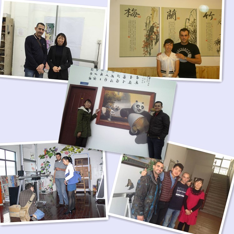 customer photo Intelligent Artistic Wall Printer