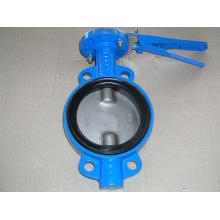 Wafer Type Double-Axis Butterfly Valves with Buna Seat