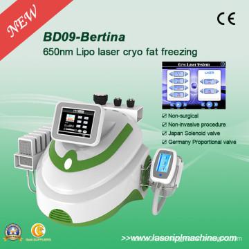 Bd09 máquina ultrasónica de la cavitación del RF / Cryolipolysis que adelgaza la máquina