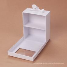 Caixa de presente magnética projetada dos auriculares sem fio com Ribbion