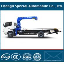 DFL série chassi Wrecker caminhão com 5 toneladas guindaste para venda