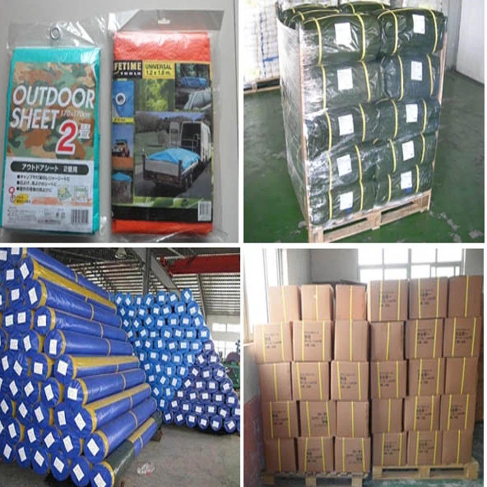 Tarpaulin Packing Loading