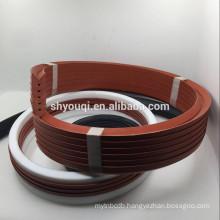 Rubber Fabric V Shape packing Seal NBR Viton fkm Teflon vee -packing Combination seals Ring set