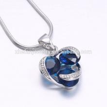 Fabricante de jóias conjunto pingente de jóias pingente de zircônia cúbica tripla