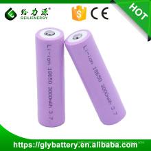 Bateria recarregável 3000m bateria 3.7v li-ion 18650