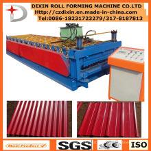 Machine de formage de rouleaux de feuilles d'acier Ibr