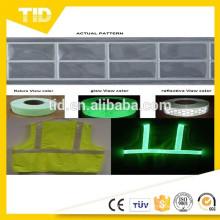 Glow reflective tape