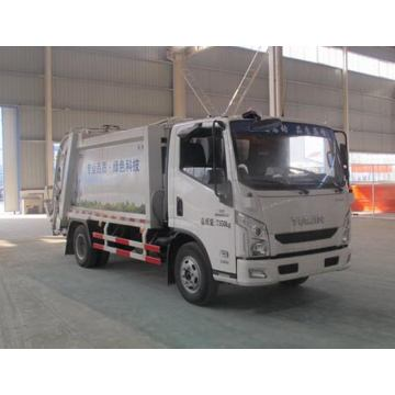 YUEJIN 8CBM Container Compressible Waste Truck