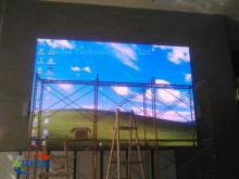 256mmx128mm P8 high resolution indoor led display