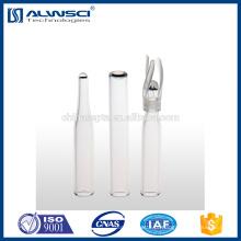 Frasco de HPLC de 2 ml Inserção cónica de 6mm