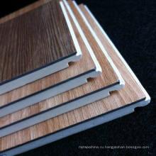 Легко устанавливаемый ПВХ ламинированный пол WPC Ламинированные полы Деревянные ламинированные напольные покрытия Хорошее качество