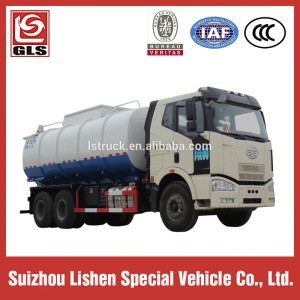 FAW 6*4 Fecal Sewage Truck Vacuum Suction Truck