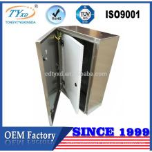 Chine fournisseur industrielle 304/201 en acier inoxydable boîte de distribution en métal électrique enceinte