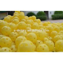 Hollow Perforated Plastic Golf Practice Training Balls
