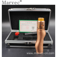100% Original Factory for Pc Material E Vape Marvec copper material ecigar wholesale vaping export to South Korea Supplier