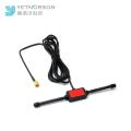 Gps Navigator gps gprs patch antenna 3dBi 2.4G 20W Small Alarm Car antenna with Rg 174 cable