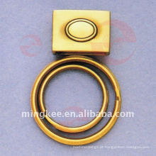 Acessórios para Correntes de Malas com Duplo Círculo-Anéis (Q12-173AS)
