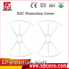 Original syma X5C spare parts protection shield 4pcs/set quadcopter part RC Helicopter Drone spare parts Blade Protecting Frame