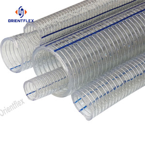 Food+Grade+PVC+Steel+Wire+Reinforced+Hose+Pipe
