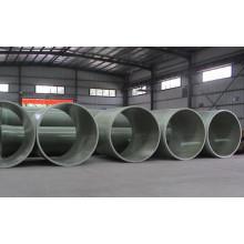 Tubería de suministro de agua de fibra de vidrio de tubo de GRP