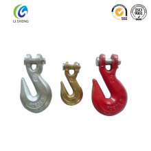 Safety carbon steel clevis grab hook