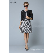 New Style Fashion Plaid Dress