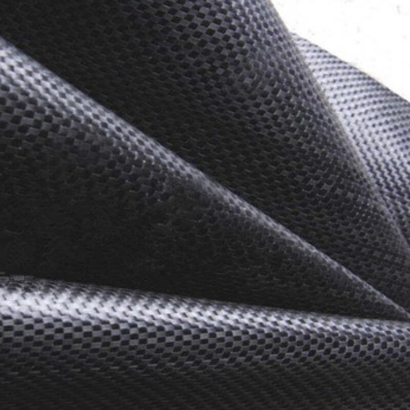 woven geotextile black