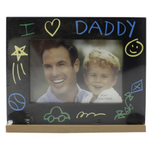 Baby 4x6inch I Love Dad Plastic Photo Frame