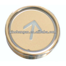 Elevator Round Push Button, Elevator Parts, Lift Parts (CN100)