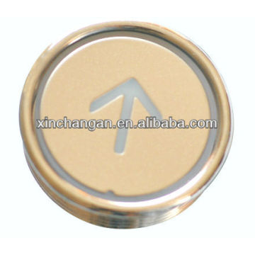 Elevator Round Push Button, Elevator Parts, Lift Parts (CN100)