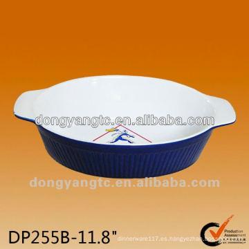 2011 Platos de cerámica para hornear