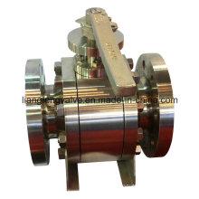 Válvula de esfera forjada API F304 F316
