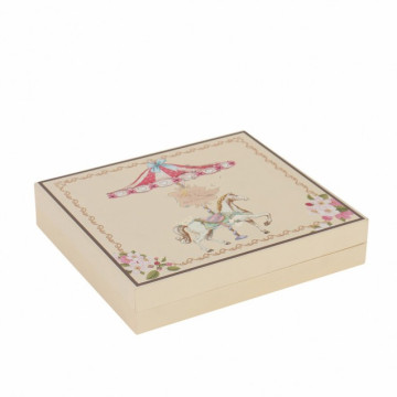 Art paper chocolate containing packaging box