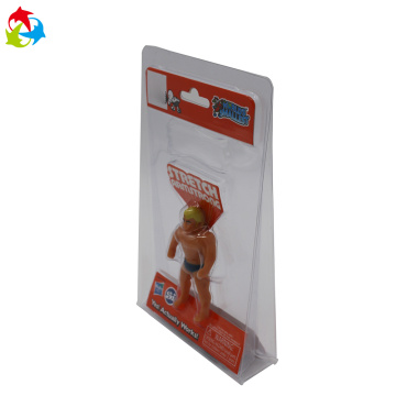 Vacuum forming clear tri fold PET blister packaging