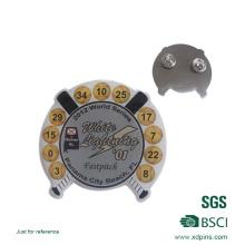 Pin de lapela de beisebol de impressão de metal para presente (xd-08264)