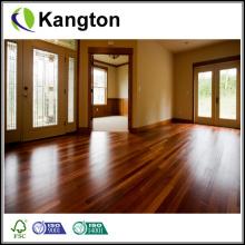 Revestimento de madeira maciça Ipe mais colorido (piso de madeira sólida)