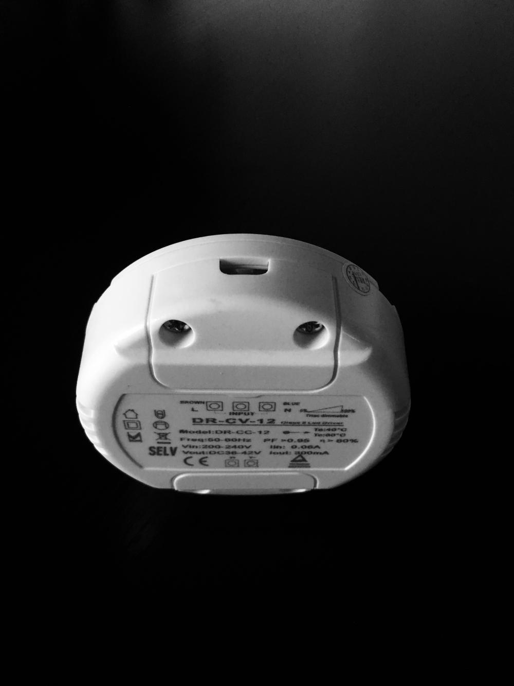 12w Round Shape Led Driver