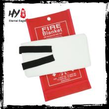 Atacado cobertor resistente ao fogo, cobertor de fogo para uso na cozinha, cobertor de fogo duro caixa de pvc