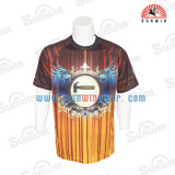 espport custom design 2017 Sublimated Reversible gaming shirts t-shirt