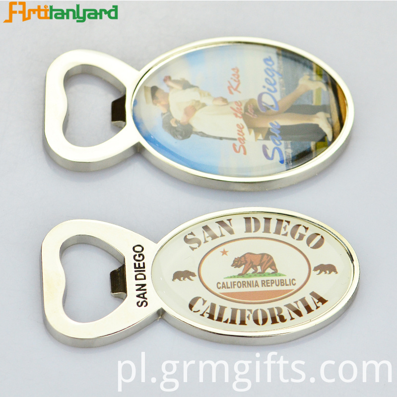 Bottle Opener With Raised Logo