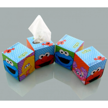 Boxed tissues in the car