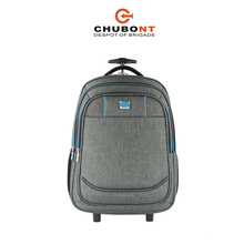 Chubont Gray Camping Backpack Trolley Backpack for Men