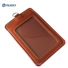 Thickness PVC Exhibition Card Holder / Leather Card Holder
