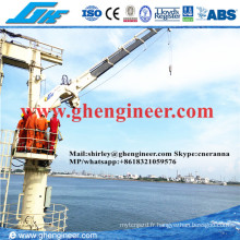 8t 10t Hydraulic Marine Pedestal Crane