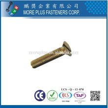Feito em Taiwan De aço inoxidável de alta qualidade M8X1.5 Cross Croate Flat Head Machine Screw