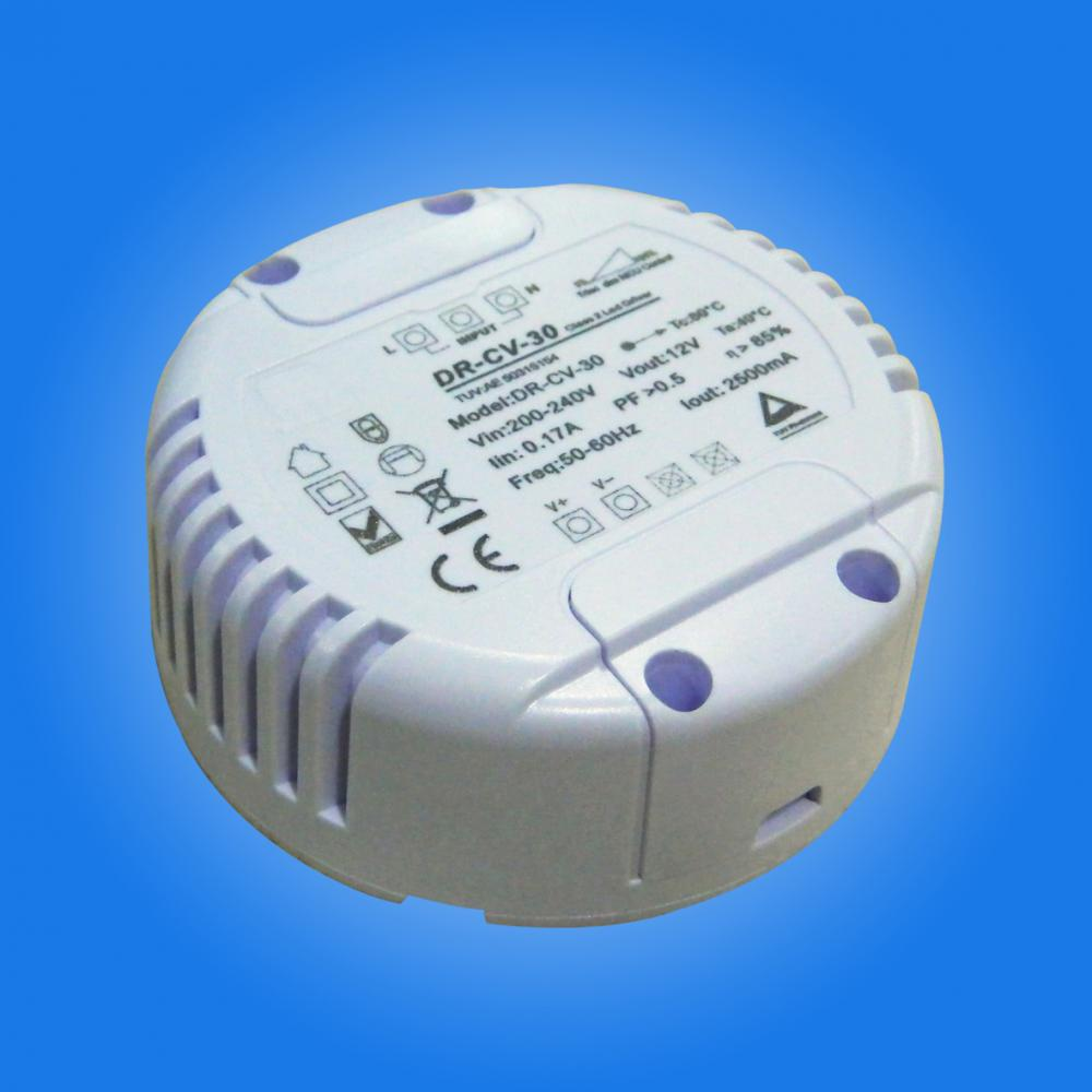 30w round led driver