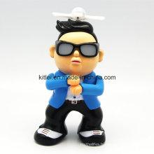 Mini Korean Dancing Fashion Man Action Figure Plastic Polyresin Toy